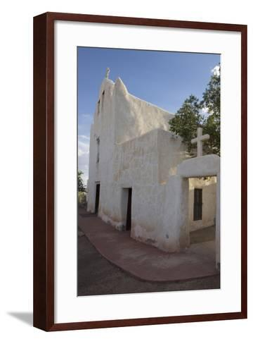 New Mexico, Laguna Mission. Mission San Jose De La Laguna-Luc Novovitch-Framed Art Print