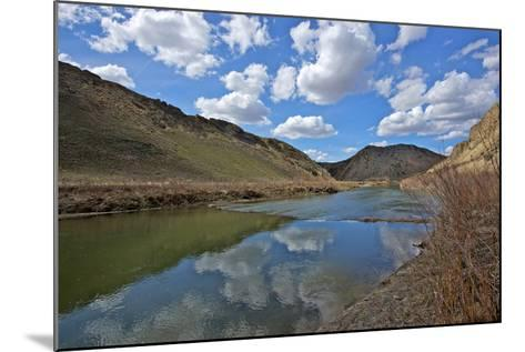 Humboldt River, the First Crossing of Carlin Canyon in Nevada-Richard Wright-Mounted Photographic Print