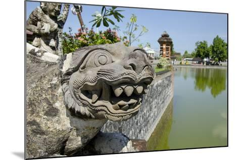 Indonesia, Mayura Water Palace. Statue of Mythical Creature-Cindy Miller Hopkins-Mounted Photographic Print