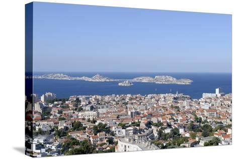 France, Bouches Du Rhone, Marseille. the View of Marseille-Kevin Oke-Stretched Canvas Print
