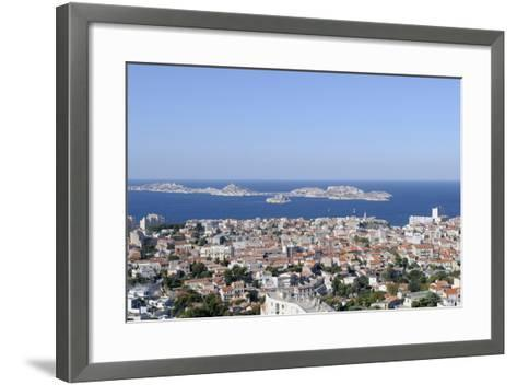 France, Bouches Du Rhone, Marseille. the View of Marseille-Kevin Oke-Framed Art Print