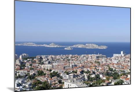 France, Bouches Du Rhone, Marseille. the View of Marseille-Kevin Oke-Mounted Photographic Print