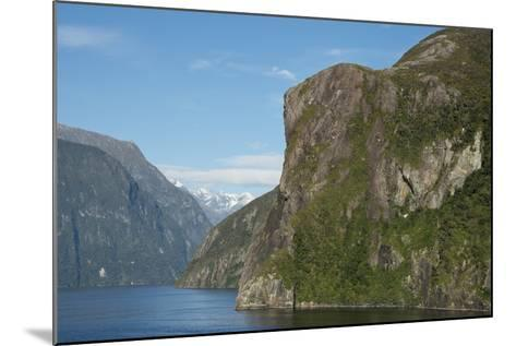 New Zealand, Fiordland National Park, Milford Sound, known as Piopiotahi-Cindy Miller Hopkins-Mounted Photographic Print