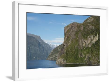 New Zealand, Fiordland National Park, Milford Sound, known as Piopiotahi-Cindy Miller Hopkins-Framed Art Print
