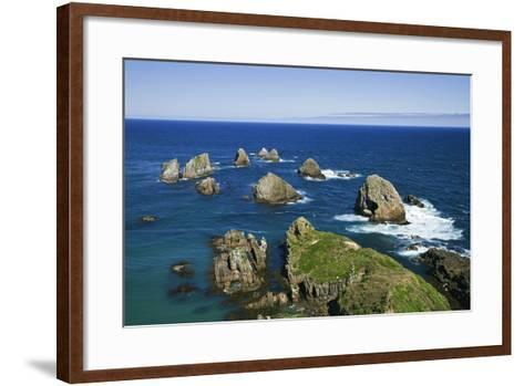 New Zealand, South Island. Seascape from Nugget Point-Jaynes Gallery-Framed Art Print
