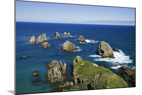 New Zealand, South Island. Seascape from Nugget Point-Jaynes Gallery-Mounted Photographic Print