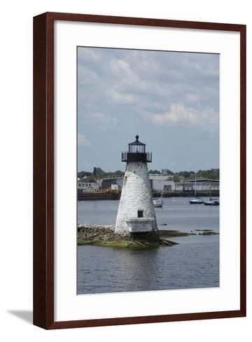 Massachusetts, New Bedford. Palmer Island Lighthouse-Cindy Miller Hopkins-Framed Art Print