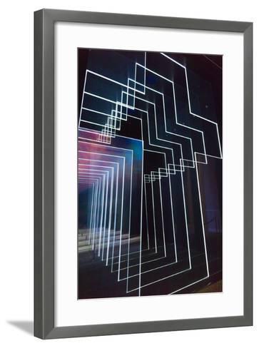 North Carolina, Charlotte, the Billy Graham Library and Chapel-Walter Bibikow-Framed Art Print