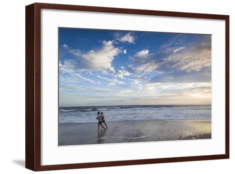 North Carolina, Outer Banks National Seashore, Kitty Hawk, Waterfront-Walter Bibikow-Framed Art Print