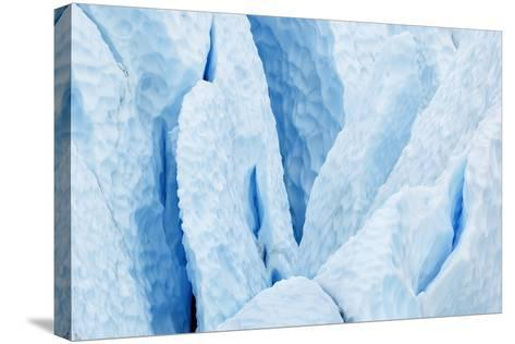 USA, Alaska. Matanuska Glacier Close Up-Jaynes Gallery-Stretched Canvas Print