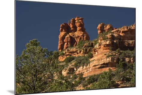 King and Three Queens, Fay Canyon, Coconino Nf, Sedona, Arizona-Michel Hersen-Mounted Photographic Print