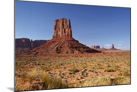 Utah. Arizona Border, Navajo Nation, Monument Valley, West Mitten-David Wall-Mounted Photographic Print