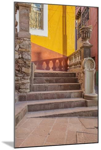 Mexico, Guanajuato, Steps and Shadows-Rob Tilley-Mounted Photographic Print