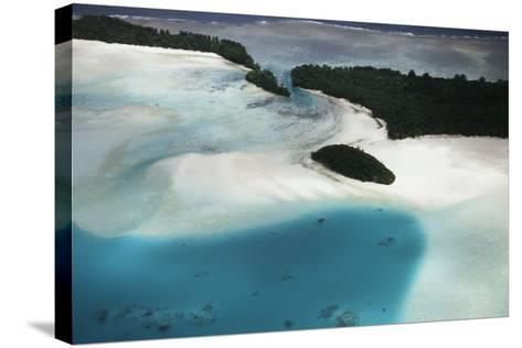 Micronesia, Palau, Ariel View of Rock Islands-Stuart Westmorland-Stretched Canvas Print