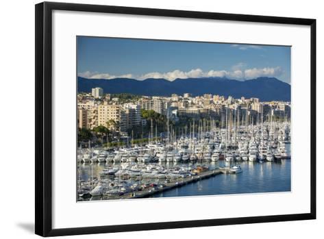 Boats Crowd the Marina in Palma De Mallorca, Mallorca, Spain-Brian Jannsen-Framed Art Print