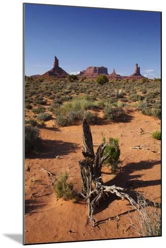 Navajo Nation, Monument Valley, Landscape of Mitten Rock Formations-David Wall-Mounted Photographic Print