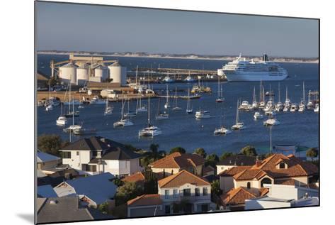 Australia, Bunbury, Elevated View of Port, Dusk-Walter Bibikow-Mounted Photographic Print