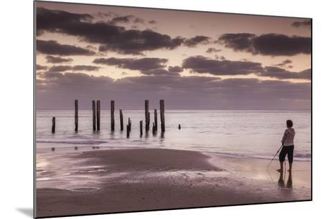 Australia, Fleurieu Peninsula, Port Willunga, Old Jetty, Dusk-Walter Bibikow-Mounted Photographic Print