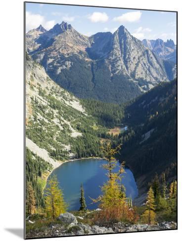 Wa, Wenatchee National Forest, Lake Ann-Jamie And Judy Wild-Mounted Photographic Print