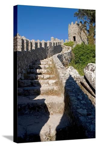 Castelo Dos Mouros, Sintra, Portugal-Susan Degginger-Stretched Canvas Print