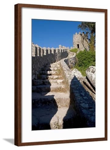 Castelo Dos Mouros, Sintra, Portugal-Susan Degginger-Framed Art Print