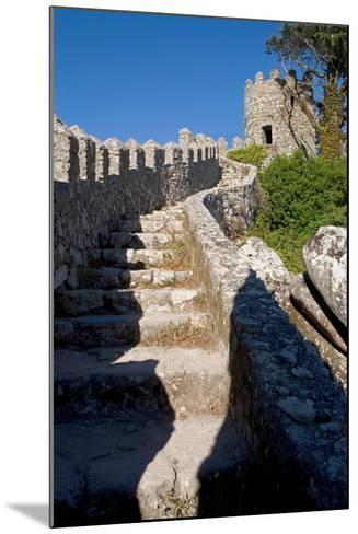 Castelo Dos Mouros, Sintra, Portugal-Susan Degginger-Mounted Photographic Print