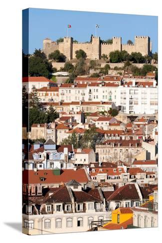 Castle De Sao Jorge, Lisbon Portugal-Susan Degginger-Stretched Canvas Print