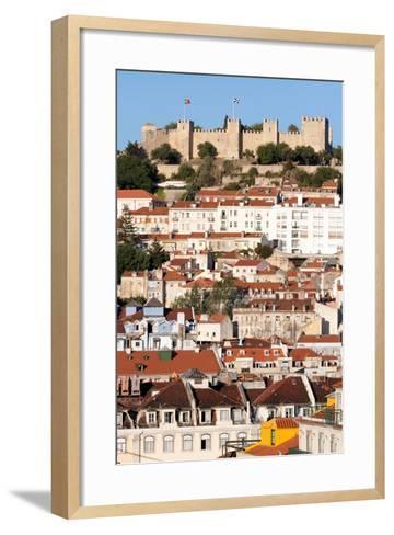 Castle De Sao Jorge, Lisbon Portugal-Susan Degginger-Framed Art Print