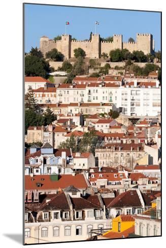 Castle De Sao Jorge, Lisbon Portugal-Susan Degginger-Mounted Photographic Print