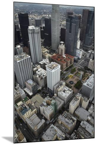 Downtown Los Angeles, Including Us Bank Tower 73 Floors, Aerial-David Wall-Mounted Photographic Print
