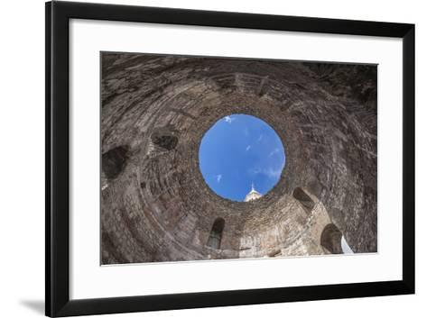 Croatia, Split, Diocletians Palace, Temple of the Aesculapius-Rob Tilley-Framed Art Print