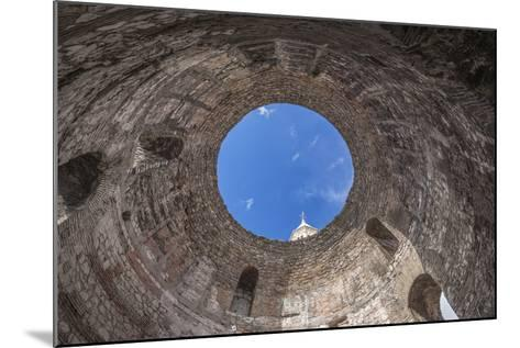 Croatia, Split, Diocletians Palace, Temple of the Aesculapius-Rob Tilley-Mounted Photographic Print