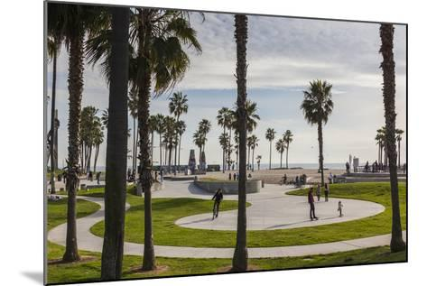 California, Los Angeles, Venice, Beachfront Park-Walter Bibikow-Mounted Photographic Print