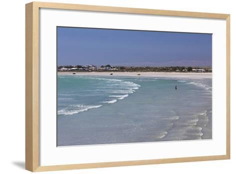 Australia, Yorke Peninsula, Wallaroo, Beach-Walter Bibikow-Framed Art Print
