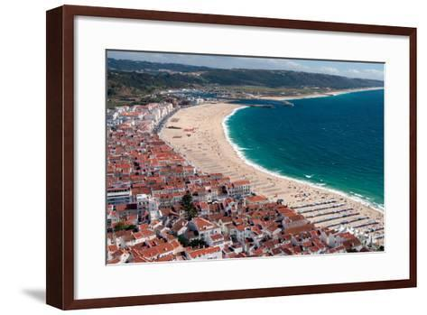 Nazare, Portugal-Susan Degginger-Framed Art Print
