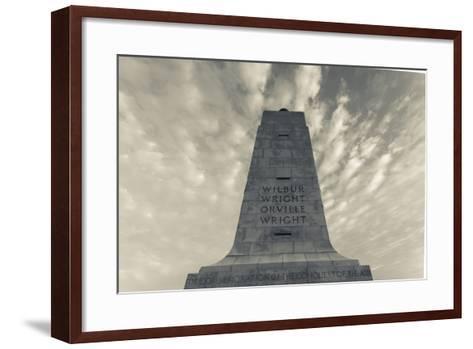 North Carolina, Kill Devil Hills, Wright Brothers National Memorial-Walter Bibikow-Framed Art Print