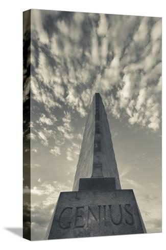 North Carolina, Kill Devil Hills, Wright Brothers National Memorial-Walter Bibikow-Stretched Canvas Print