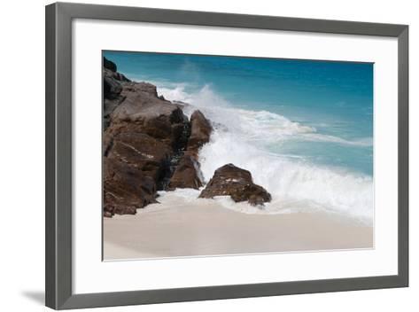 Anse Maquereau, Fregate Island, Seychelles-Sergio Pitamitz-Framed Art Print