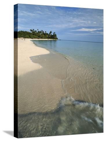 Maldives, Island Paradise, Ambara Island, View of Sand Beach-Stuart Westmorland-Stretched Canvas Print
