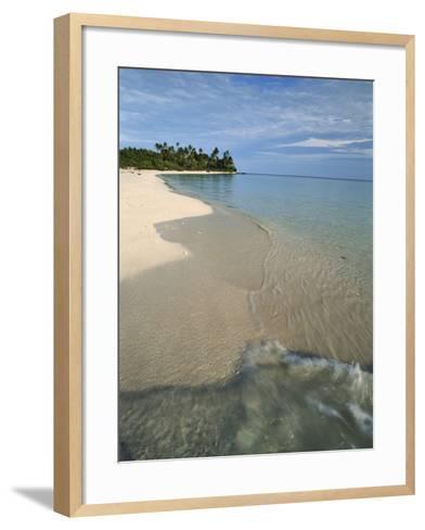 Maldives, Island Paradise, Ambara Island, View of Sand Beach-Stuart Westmorland-Framed Art Print
