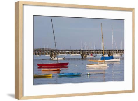 Massachusetts, Cape Cod, Provincetown, the West End, Boats-Walter Bibikow-Framed Art Print