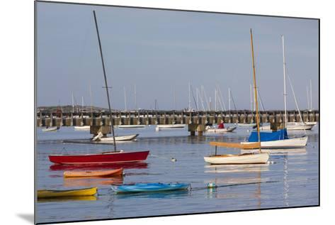 Massachusetts, Cape Cod, Provincetown, the West End, Boats-Walter Bibikow-Mounted Photographic Print