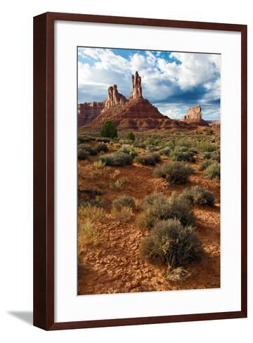 Valley of the Gods, Utah-Susan Degginger-Framed Art Print