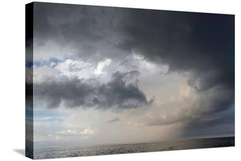Storm Clouds over the Atlantic Ocean-Susan Degginger-Stretched Canvas Print