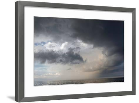 Storm Clouds over the Atlantic Ocean-Susan Degginger-Framed Art Print