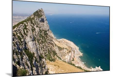 The Rock of Gibraltar Overlooking the Atlantic Ocean-Susan Degginger-Mounted Photographic Print