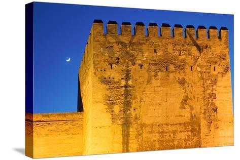 Torre De La Vela, Alcazaba, La Alhambra, Granada, Spain-Susan Degginger-Stretched Canvas Print
