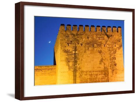 Torre De La Vela, Alcazaba, La Alhambra, Granada, Spain-Susan Degginger-Framed Art Print