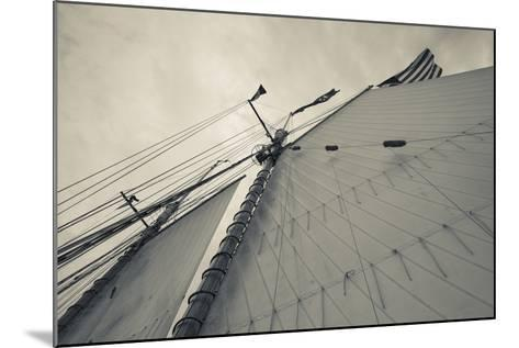 Massachusetts, Gloucester, Schooner Festival, Sails and Masts-Walter Bibikow-Mounted Photographic Print