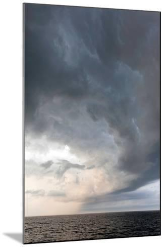 Storm Clouds over the Atlantic Ocean, Massachusetts-Susan Degginger-Mounted Photographic Print